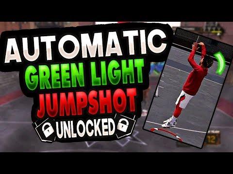 AUTOMATIC GREEN LIGHT JUMPSHOT NBA 2K18