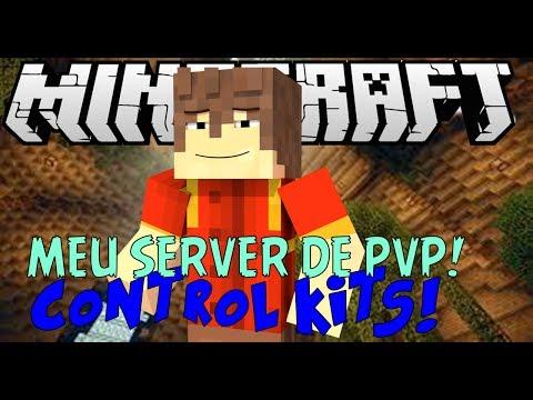 Minecraft ControlKits Meu Server De PvP 1.7.4 ORIGINAL