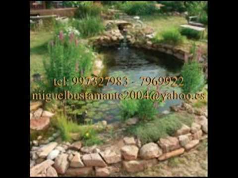 Estanque para peces construyo youtube for Imagenes de estanques caseros