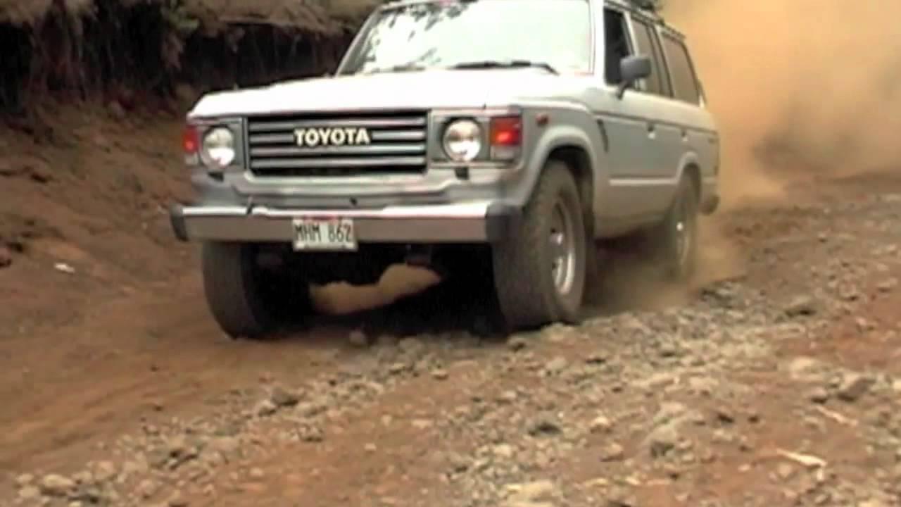 Maui Off Road >> Toyota FJ60 Land Cruiser off-roading on Maui Hawaii - Polipoli Park on Haleakala volcano - YouTube