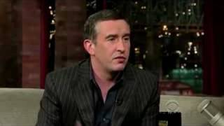 Steve Coogan on Letterman - 8/5/2008