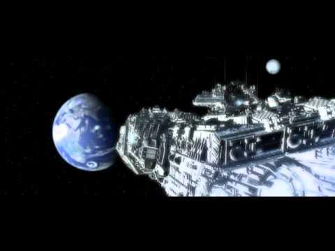Полет космического корабля 3-D
