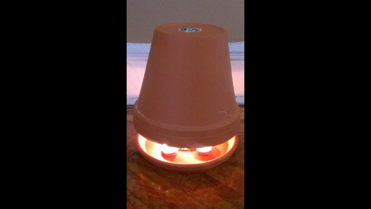 Candle Powered Heater Youtube