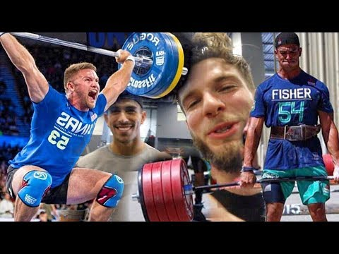 THE STRONGEST CROSSFITTERS IN THE WORLD