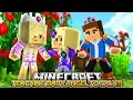 BABY LEAH TEACHES BABY ANGEL TO TALK!!!- Minecraft - Baby Lea...