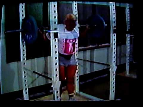 Tom platz squat training Image 1