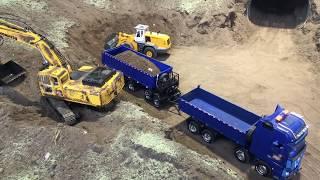 RC Kamionok TEMOFESZT 2018 RC TRUCK CONSTRUCTION SECONDDAY