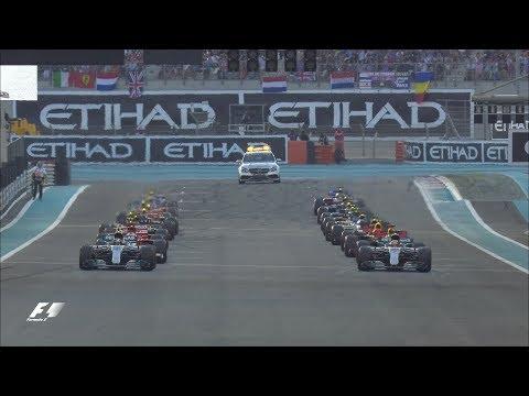 2017 Abu Dhabi Grand Prix:  Race Highlights