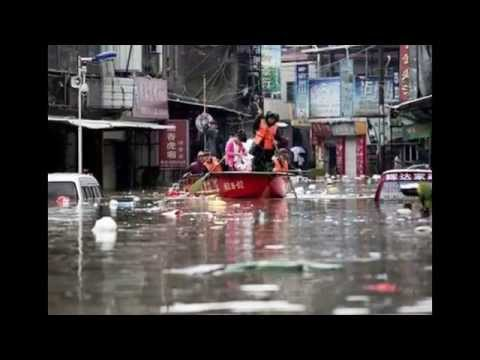 China Rains Kill 55,Leave 14 Missing
