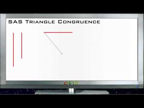 SAS Triangle Congruence Principles - Basic