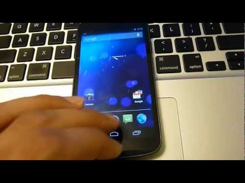 How to Install Stock Android 4.1 Jelly Bean Rom on Galaxy Nexus i9250 GSM