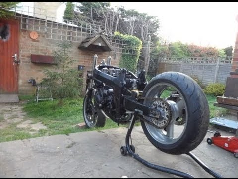 How to build a sick streetfighter Motorcycle!