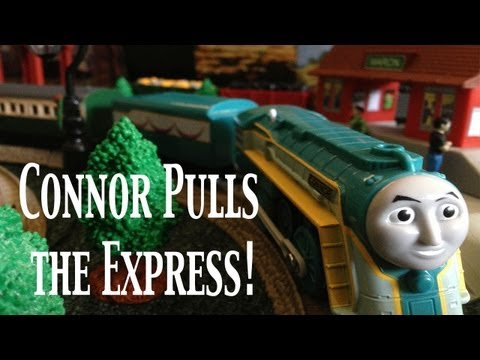 Thomas and Friends Trackmaster Village King of the Railway Connor Pulls the Express!