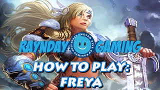 How To Play Freya: 2 Shot Full Damage Build, Combo Guide and Gameplay (SMITE) - Season 3