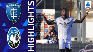 Empoli 1-4 Atalanta | An emphatic win for Atalanta | Serie 2021/22