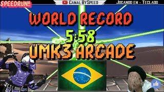 Ultimate Mortal Kombat 3 World Record Run - 5:58 - BySpeed