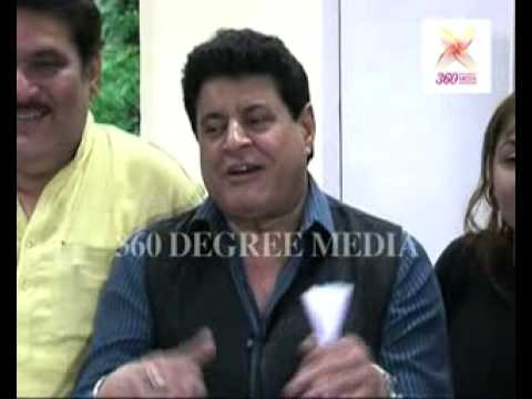 Anil Kapoor, Mithun Chakraborty, Raza Murad and Gajendra Chauhan- Launch of CINTAA website