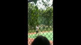 20120726グンちゃんテニス1