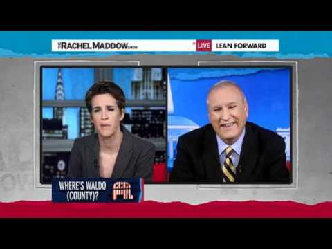 Doug Wead on Maine Election Fraud The Rachel Maddow Show 2/14/12
