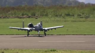 RC Thunderbolt II A 10 Double jet plane