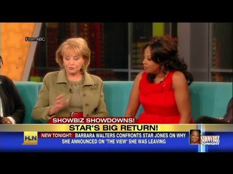 Star Jones returns to The View!
