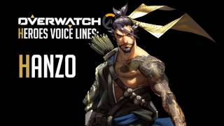 Overwatch - Hanzo All Voice Lines
