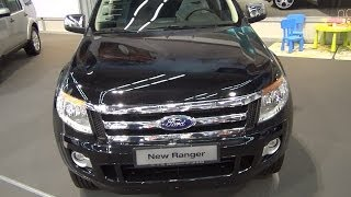 Ford Ranger Double Cab XLT 2.2 TDCi 150 4WD Exterior and Interior in 3D 4K UHD
