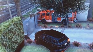 Gta 5 fastest way to glitch the Gate of death (FireTruck)