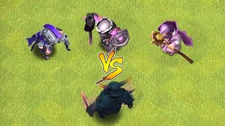 "1 VS 3  ALL HEROES vs PEKKA GOD!! ""Clash Of Clans"" TROLL ATTACK!!"
