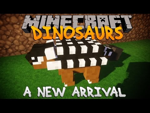 Minecraft Dinosaurs   Ep.14 - A New Arrival