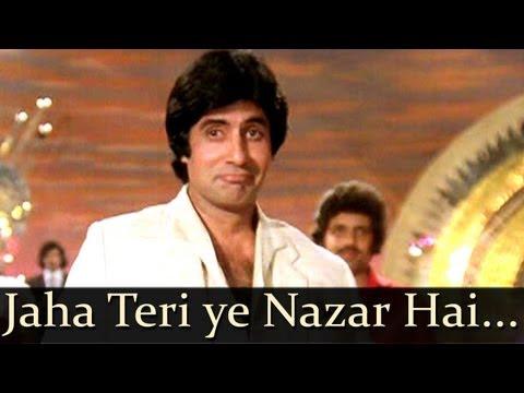 Kaalia - Jahan Teri Yeh Nazar Hai - Kishore Kumar video