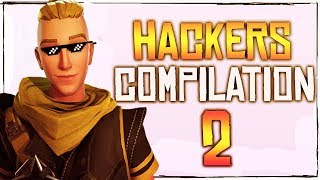 Fortnite Battle Royale Hackers Compilation Episode. 2