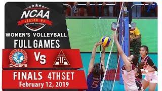 NCAA 94 WV Finals Game 3: AU vs. UPHSD | Full Game | 4th Set | February 12, 2019