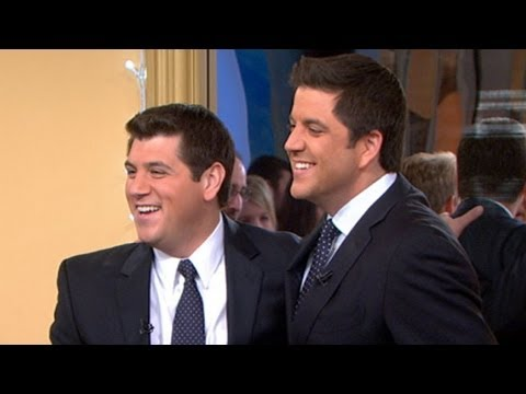 'GMA' Look-Alike Contest Results: Josh Elliott, Sam Champion's 'Bromance' With Doppelgangers