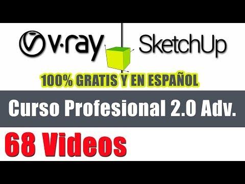 26 - Vray 2.0 y Sketchup - Configurar y utilizar Vray RT