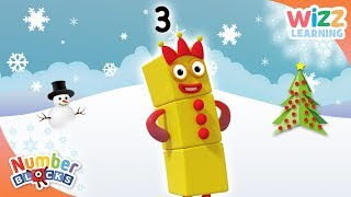 Numberblocks - The Third Day of #Christmas | Learn to Count | Wizz Learning