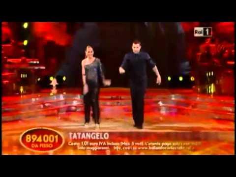 La Big Band suona le musiche per Bobo Vieri e Natalia Titova nella seconda manche