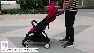 Topbi A09 Plus - Gấp siêu gọn - Tiện dụng của Đức || Baby Plaza