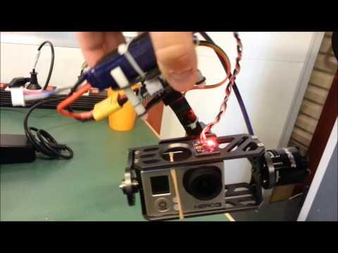 RCTimer 2 axis Brushless Gimbal + Alexmos controller