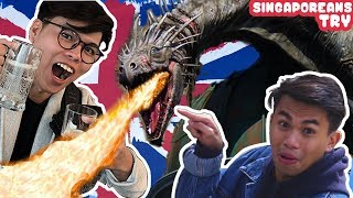 Singaporeans Try: Secret Things To Do In London & Exclusive Harry Potter's Gringotts Bank Visit