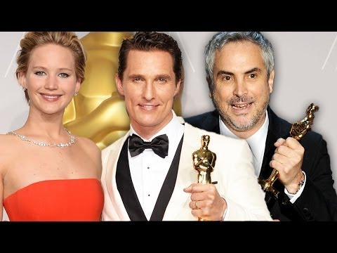 The Oscars 2014 Winners - 12 Years A Slave, Matthew McConaughey, Alfonso Cuaron