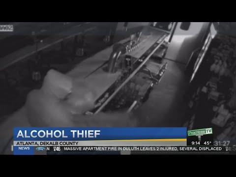 Thief targets Atlanta restaurants for alcohol