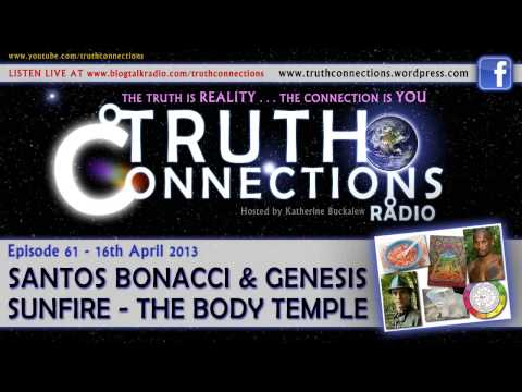 Santos Bonacci and Genesis Sunfire: The Body Temple - Truth Connections Radio - 16th April 2013