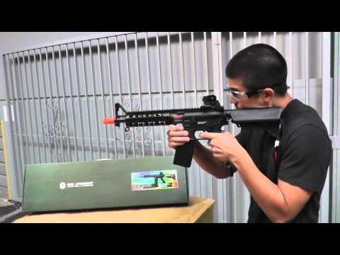 Airsoft GI Uncut - G&G GR15 Raider CQB Electric Blow Back AEG Airsoft Gun