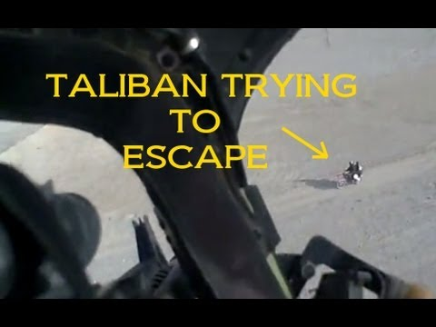 Raw Combat - KIOWA DESTROYS TALIBAN  TRYING TO ESCAPE