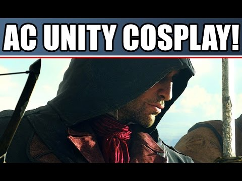 Assassin's Creed Unity Trailer: Cosplay & Parkour at Comic Con 2014! New AI Details!