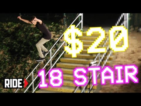18 STAIRS IN 8-BIT! Player # 27 Mickenzie Keller - Shredit Cards
