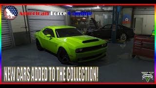 PICKED UP TWO AWESOME CARS! - HELP ME PAINT THEM! - FIVEM