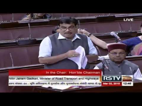 Nitin Gadkari's reply on Developmental Works