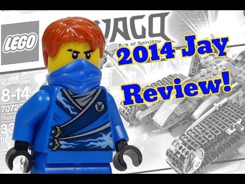 2014 LEGO Ninjago Minifigure Jay Review from 70723 Thunder Raider